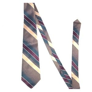 Men's Striped The Peebles Collection Tie 55 inches